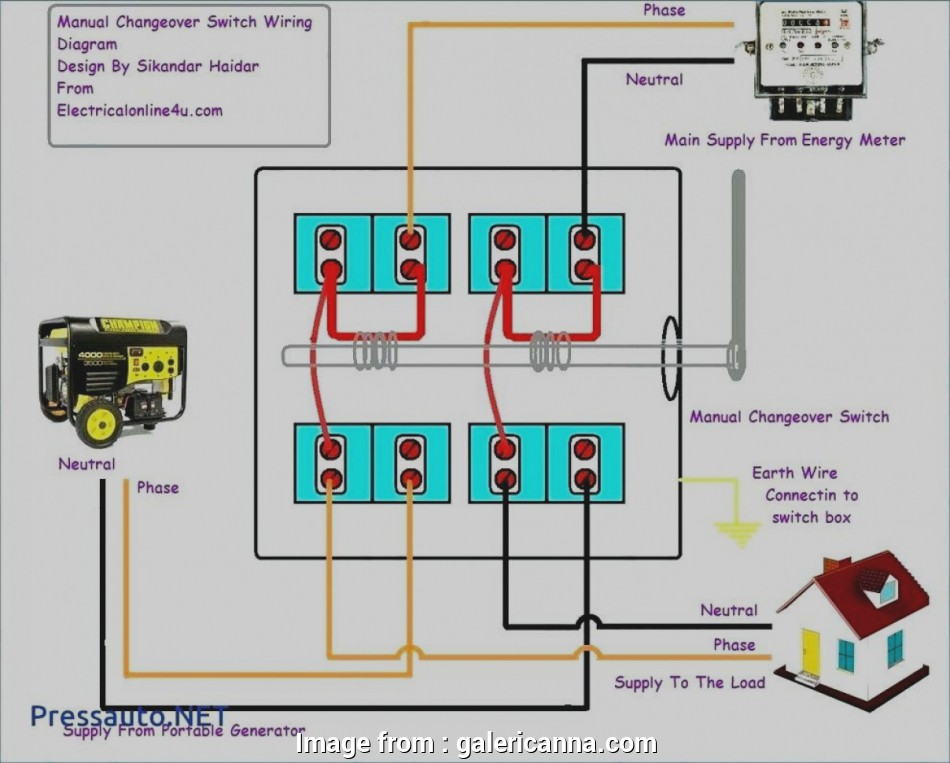 How To Wire A Light Switch  Plug Best Amazing Receptacle