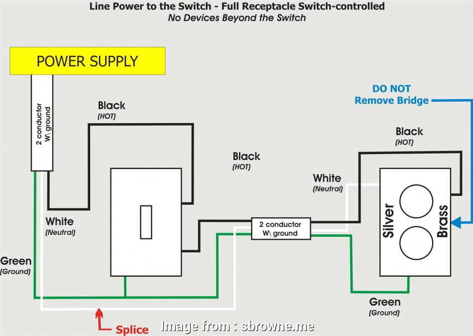 How To Wire A Light Switch  Receptacle Together Fantastic