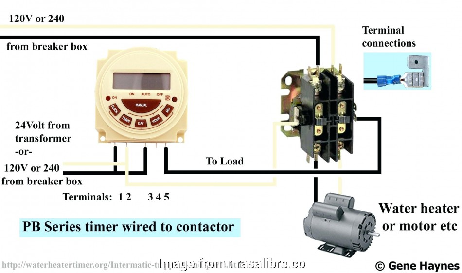 How To Wire A Light Switch Timer Perfect Fresh Intermatic