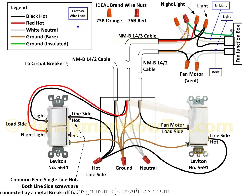 How To Wire A Light Switch Timer New Wiring Diagram Light