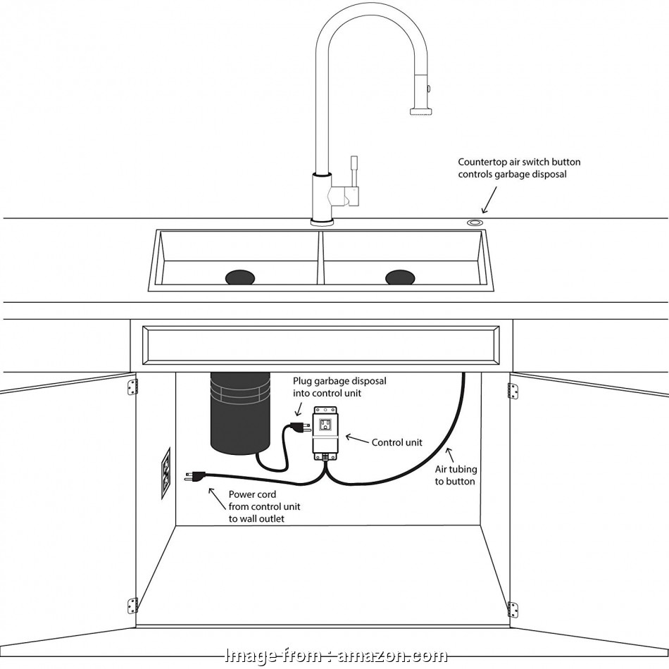 how to wire a light switch to a garbage disposal Single Outlet Sink Garbage Disposal, Activated Switch by Geyser, Amazon.com 20 New How To Wire A Light Switch To A Garbage Disposal Ideas