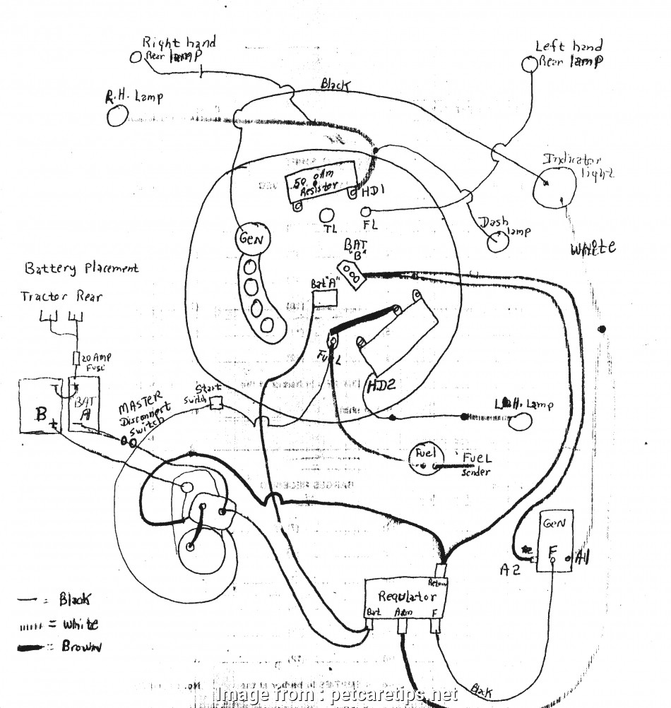 Wd Tractor Wiring Diagram on
