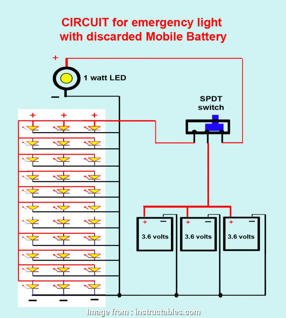 How To Wire A Light Switch To  Volt Battery Popular Wire  Led U0026 39 S  Batteries   Switch As Shown In