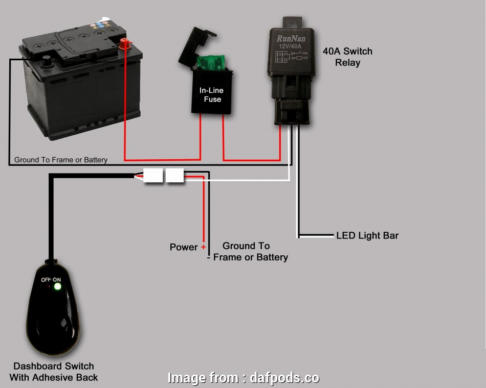 How To Wire A  Light  Switch Nice Wiring Diagram Relay