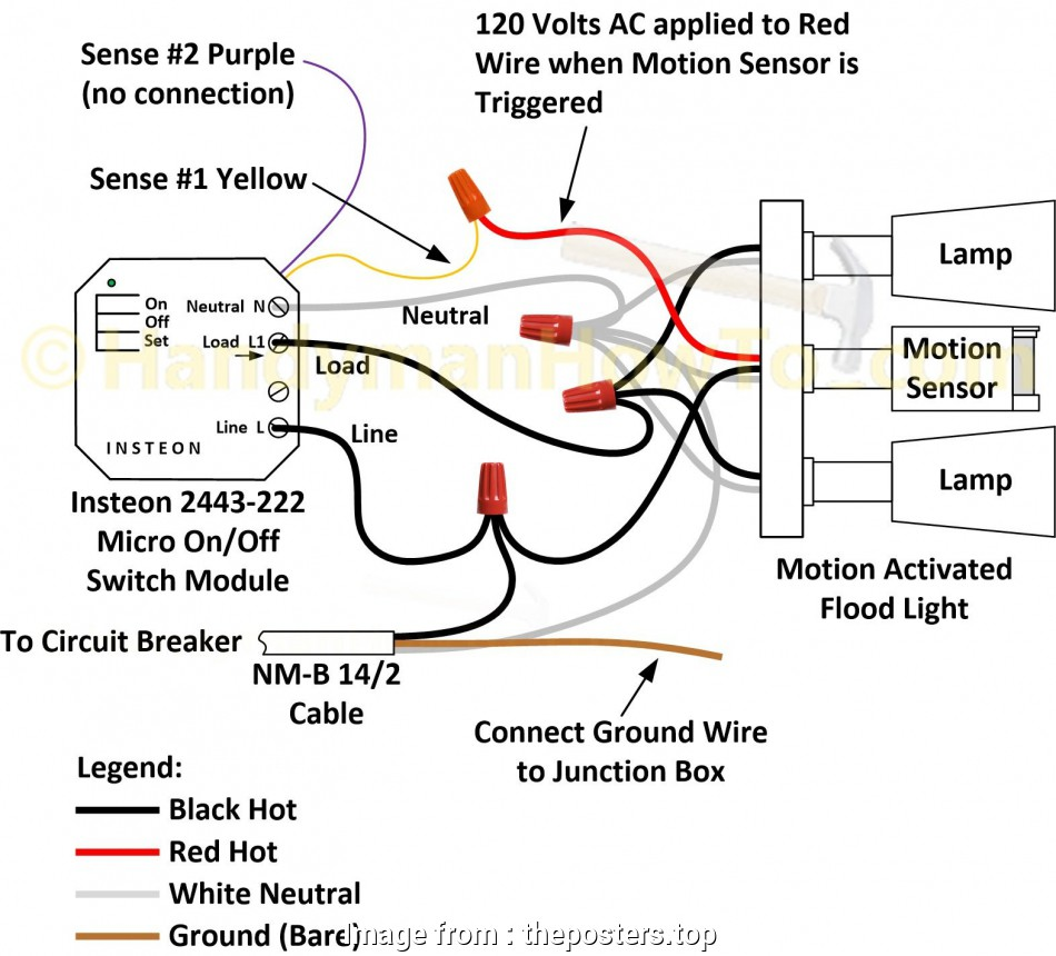 How To Wire A Light Switch With Ground Nice Motion Sensor