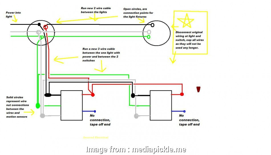 How To Wire A Light With Motion Detector Cleaver Outdoor Motion Sensor Light Wiring Diagram