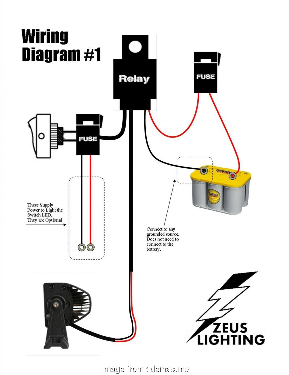 How To Wire A  Light  Without Relay New Light  Wiring