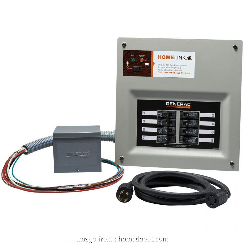 how to wire a manual generator transfer switch Generac Upgradeable Manual Transfer Switch, for 8 Circuits How To Wire A Manual Generator Transfer Switch Brilliant Generac Upgradeable Manual Transfer Switch, For 8 Circuits Solutions