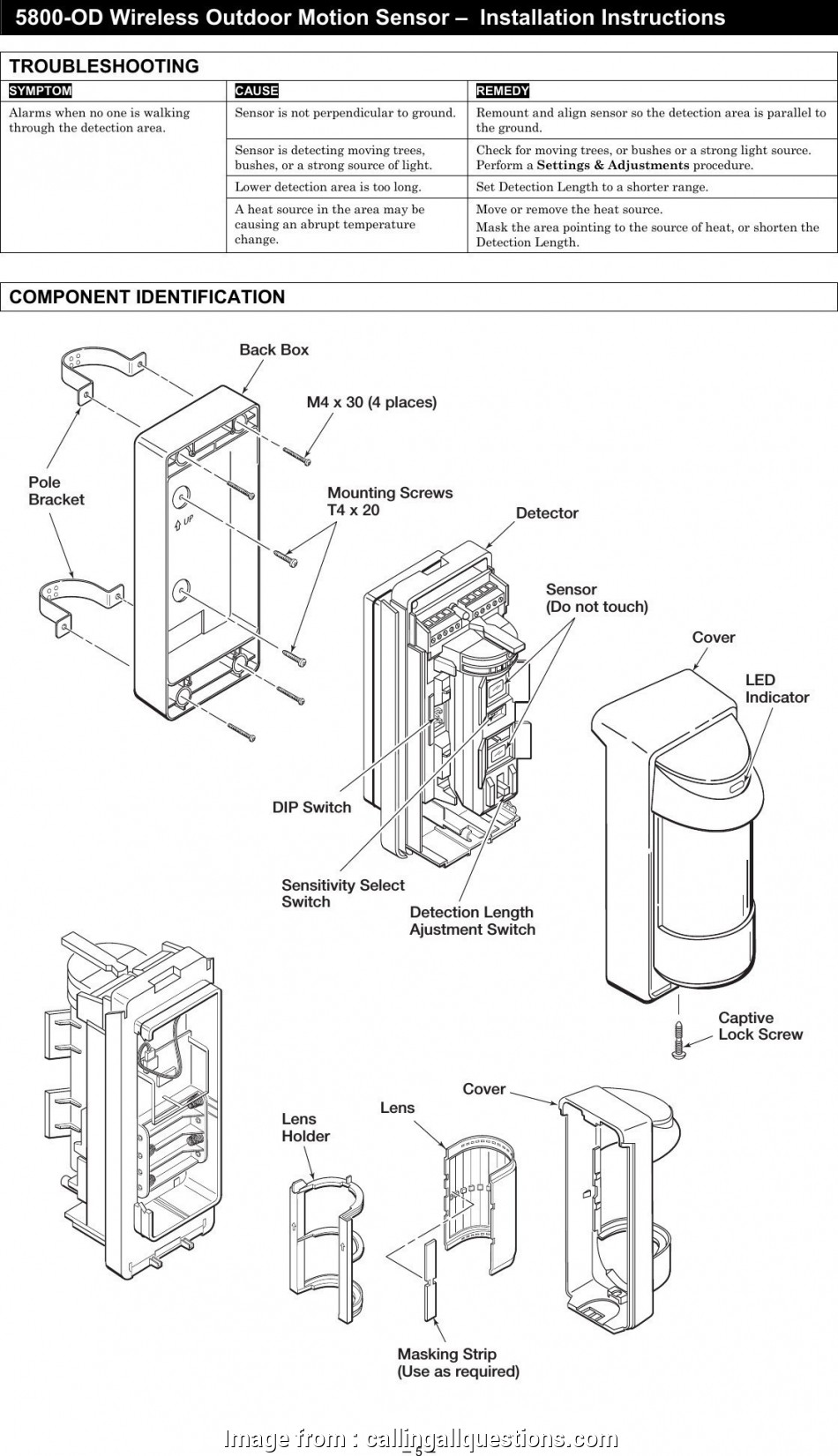 How To Wire A Motion Light Outside Practical Heath Zenith Motion Sensor Light Wiring Diagram