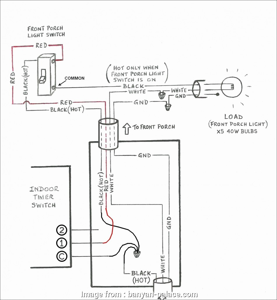 Diagram How To Wire A Light With Motion Detector Cleaver