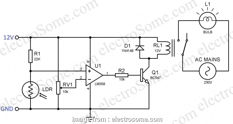 how to wire a night light lamp Automatic Night Lamp, Circuit Diagram 11 Fantastic How To Wire A Night Light Lamp Photos
