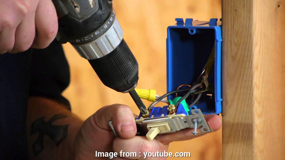 how to wire a regular light switch Converting a Light Switch to a Switch/Outlet Combo :, Electrical Work, YouTube 20 Creative How To Wire A Regular Light Switch Images