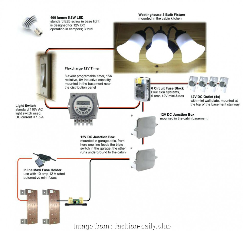How To Wire A Three  Dc Switch Creative 3  Lamp Switch
