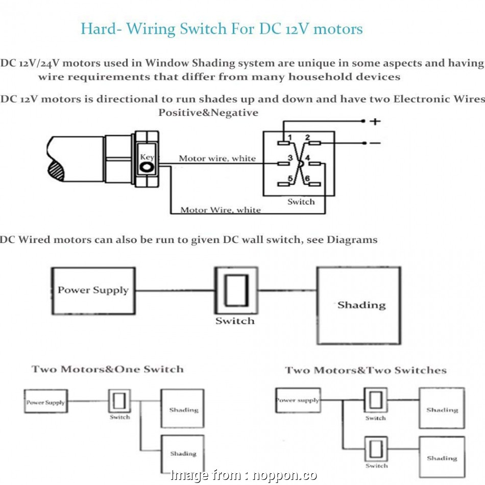 how to wire a three way dc switch    , motorized blinds collection amazon