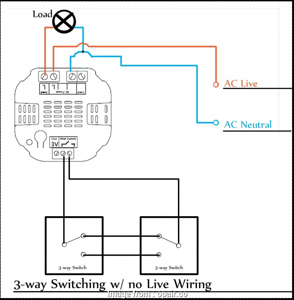 Wiring For 3 Way Switch With 2 Lights