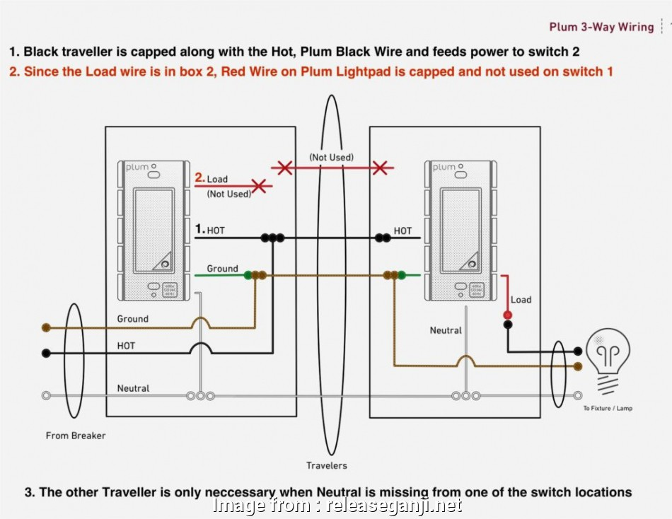 How To Wire A Three  Paddle Switch Practical Extraordinary
