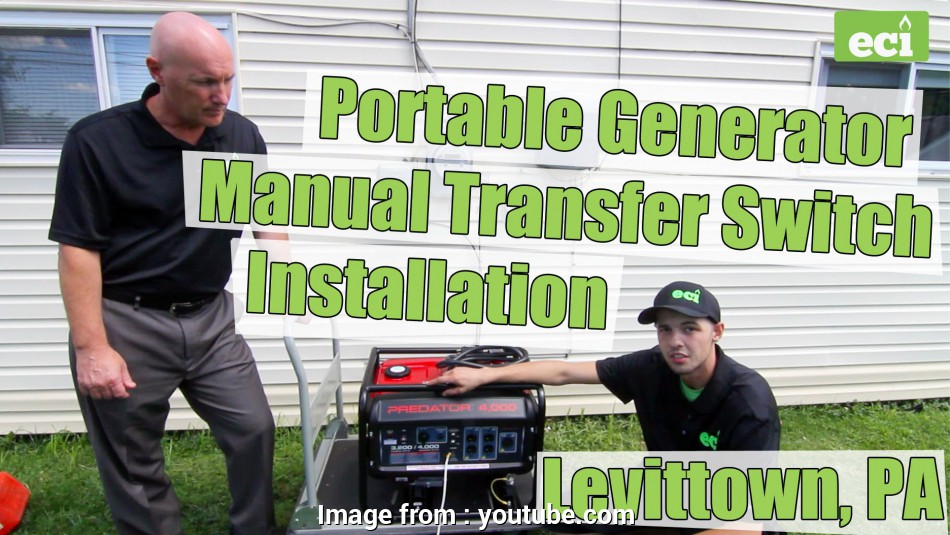 how to wire a transfer switch for a portable generator Portable Generator Manual Transfer Switch Installation in Levittown, PA, YouTube 16 Professional How To Wire A Transfer Switch, A Portable Generator Galleries
