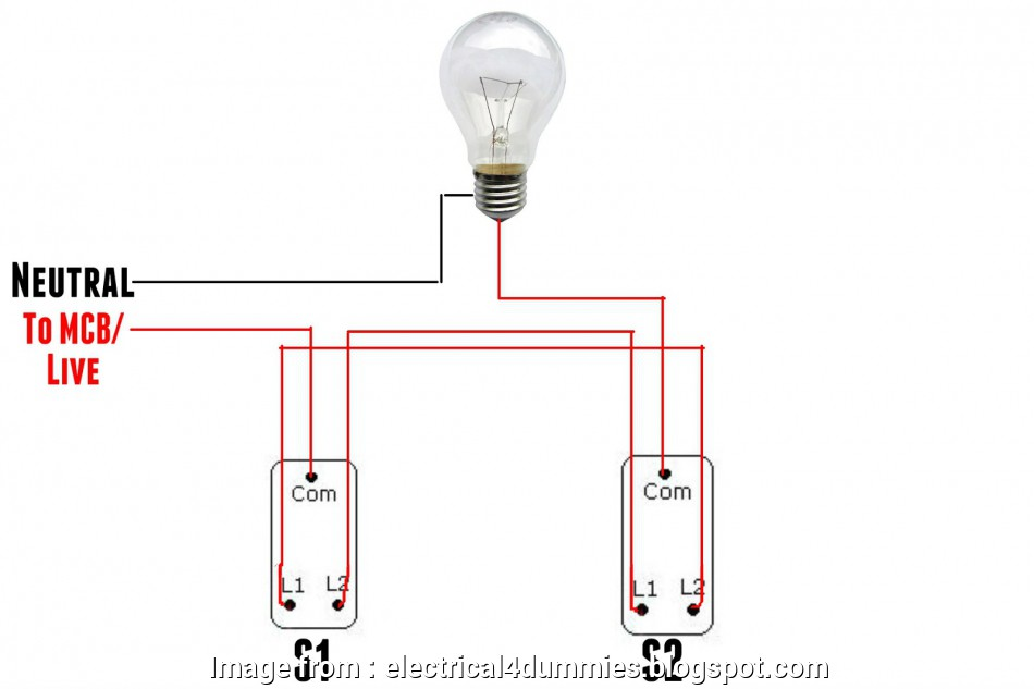 how to wire a two way switch for a light In this picture above shown, COM in S1 (switch 1) is connected to, at distribution board. Another, in S2 (switch 2) is connect to, Light bulb How To Wire A, Way Switch, A Light Cleaver In This Picture Above Shown, COM In S1 (Switch 1) Is Connected To, At Distribution Board. Another, In S2 (Switch 2) Is Connect To, Light Bulb Collections