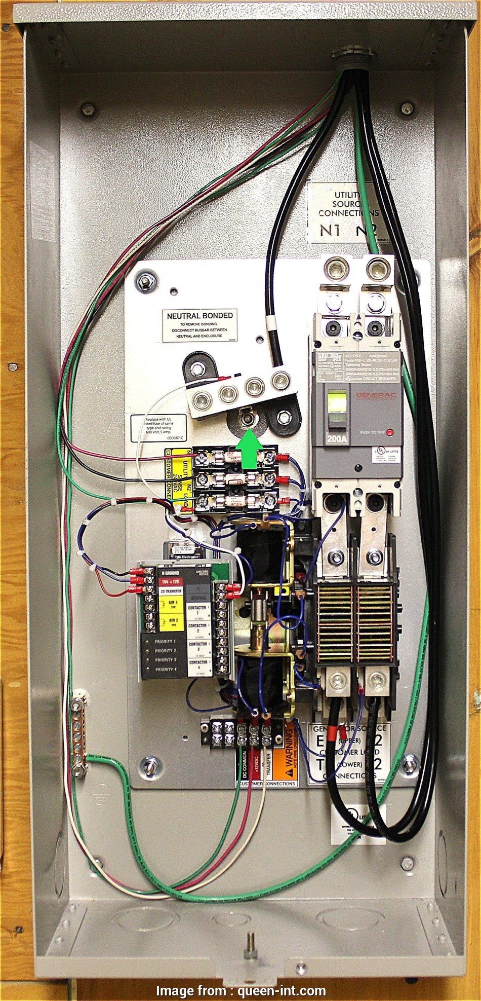 How To Wire An Automatic Transfer Switch  A Generator