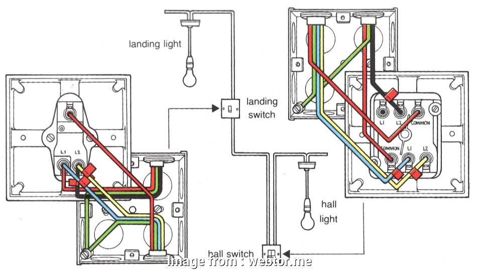 18 Fantastic How To Wire, Switches To, Light Images - Tone ... on