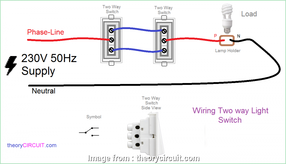 How To Wire  Switches To  Light Bulb Practical Two  Light