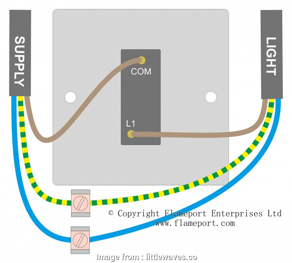 How To Wire  Switches To  Light Fantastic Wiring Diagram