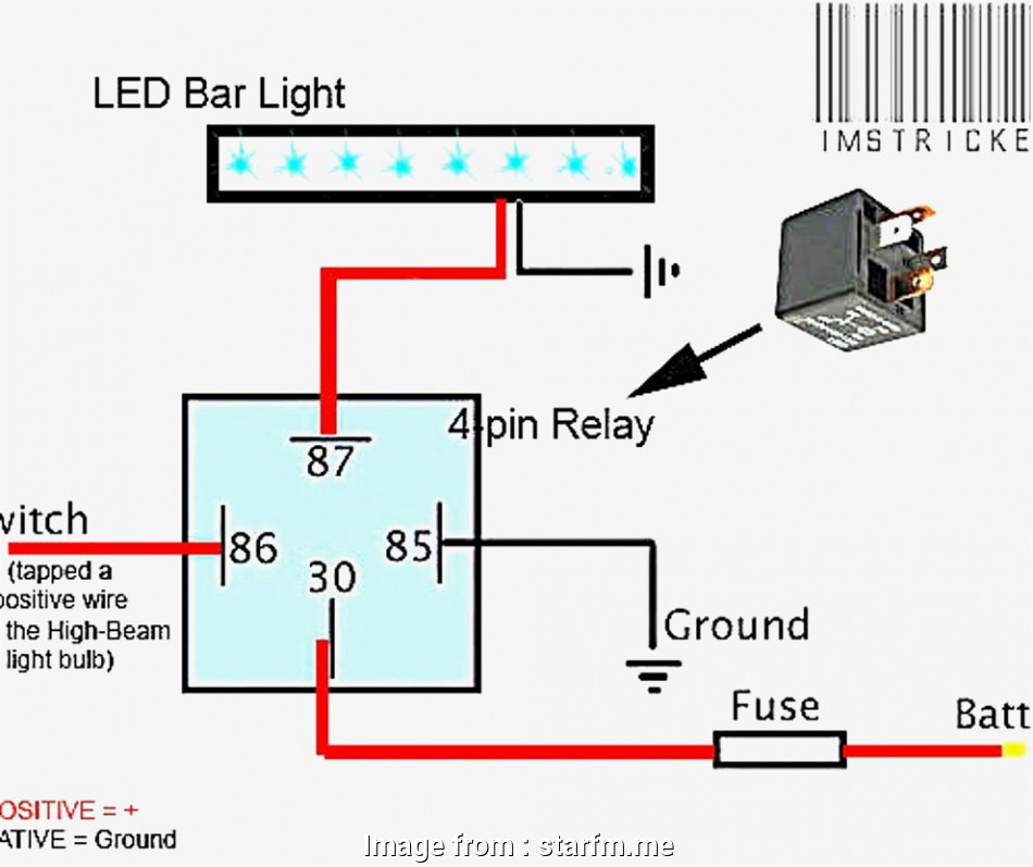 how to wire up a light bar to high beam Ledr Relay Wiring Diagram Cree Light, Rzr Anzo Tailgate Rocker, Led Bar 9 Best How To Wire Up A Light, To High Beam Collections