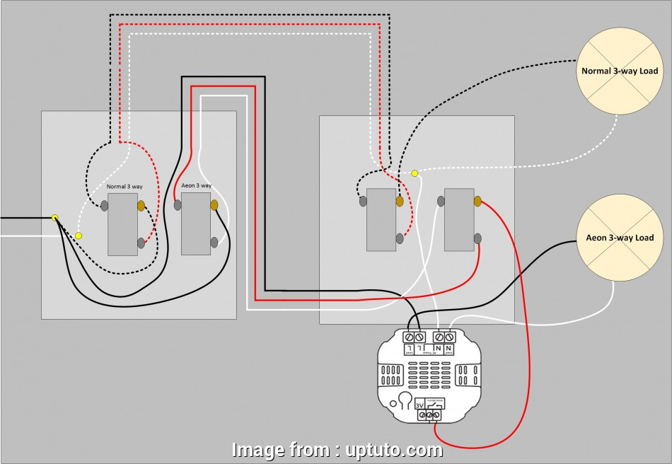 How To Wire Up  Way Light Switch Top Single Pole Dimmer