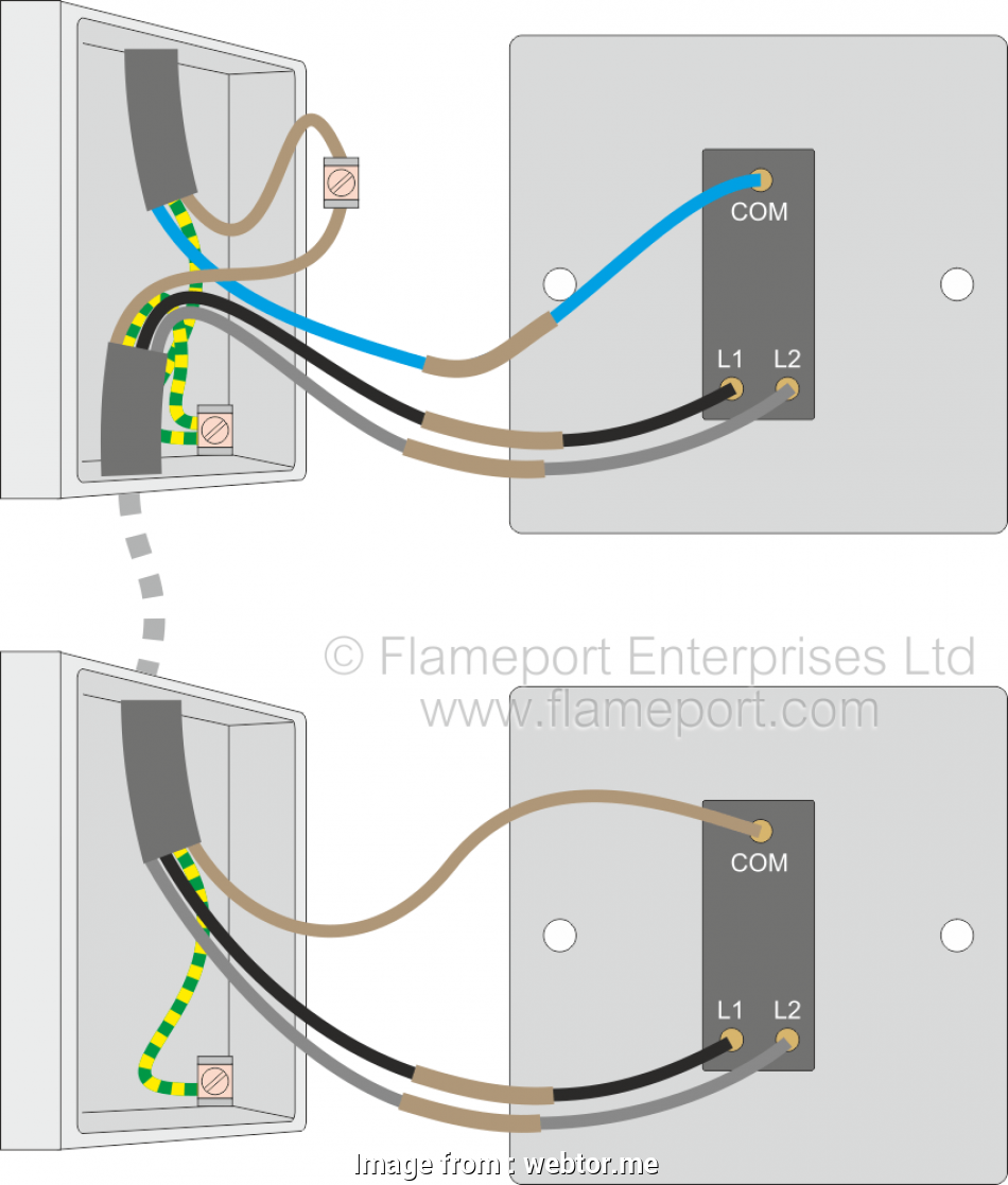 How To Wire Up  Way Light Switch Perfect Wiring Diagrams 2