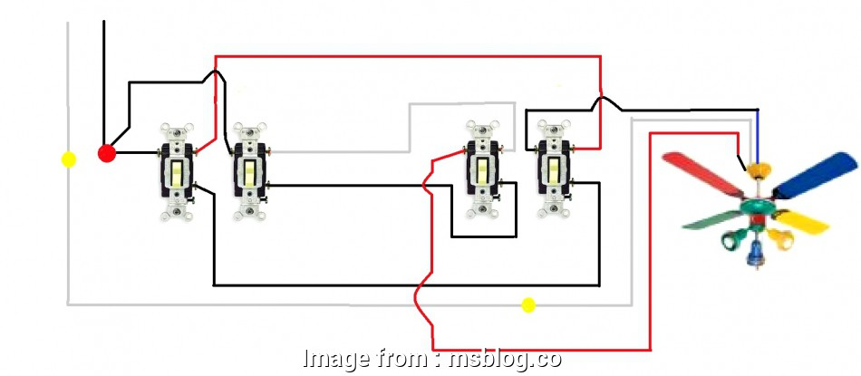 How To Wire  Way Leviton Light Switch Practical 3  Switch Wiring Diagram Uk Inside Light