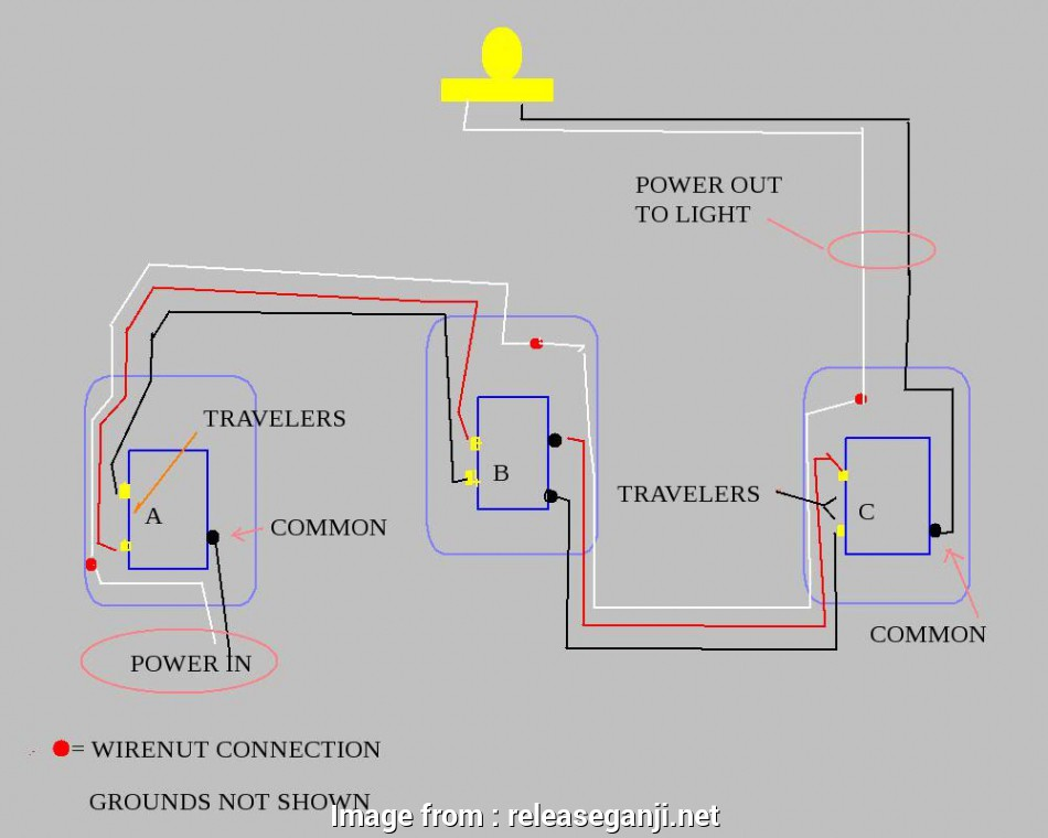 How To Wire  Way Leviton Light Switch Practical Leviton Decora 3  Switch Wiring Diagram Natebird