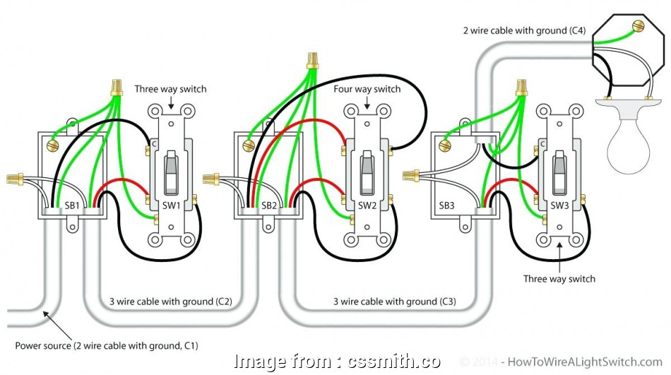 How To Wire, Way Light Switch Most Diagram: 5, Light Switch ...  Way Light Switch Wiring Diagram on