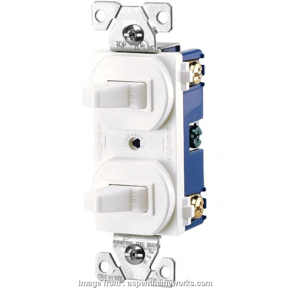 How To Wire  Way Momentary Switch Most White Eaton Light