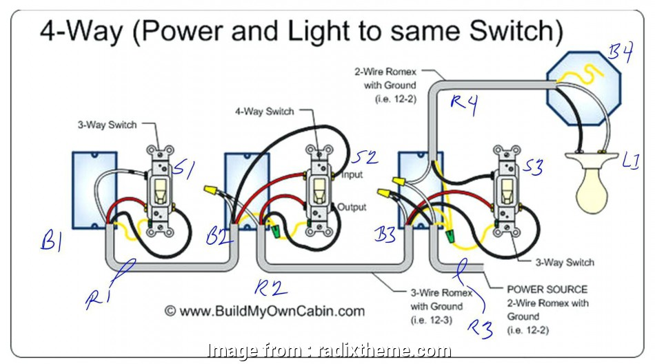How To Wire, Way Switch Diagram Most 4, Switch Diagram ...  Way Switch Wiring Diagram on
