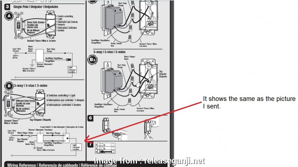 how to wire a 3 way switch lutron Lutron 3, Switch Wiring Diagram Fitfathers Me Stuning 3Way Within Inside 13 Practical How To Wire, Way Switch Lutron Images