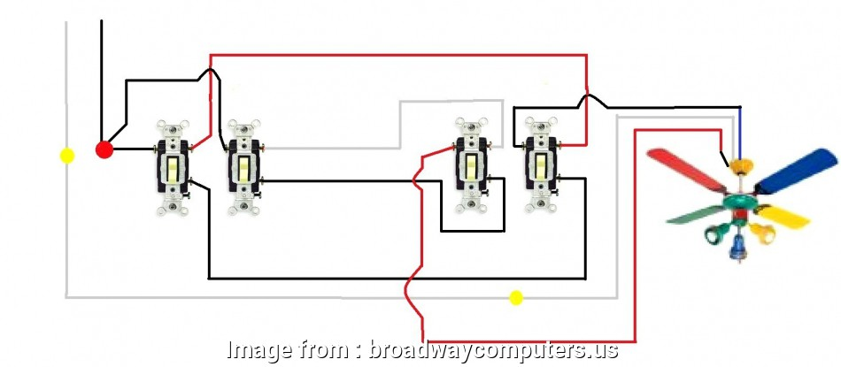 How To Wire, Way Switch With Four Lights Brilliant Connect ...  Way Switch Wiring Diagram Wall on on off wall switch diagram, 3 wire switch diagram, 3 pole switch diagram, light switch wiring diagram, three switch wiring diagram, easy 3 way switch diagram,