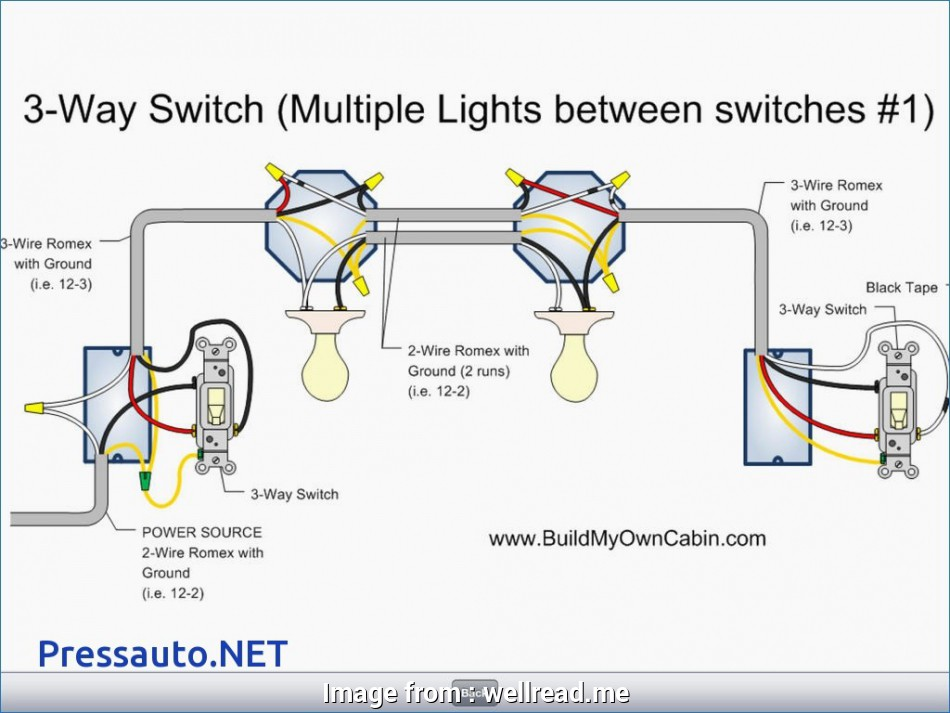 how to wire a 3 way switch with multiple lights diagram With, Way Switch Wiring Multiple Lights Diagram In Three 20 Nice How To Wire, Way Switch With Multiple Lights Diagram Pictures