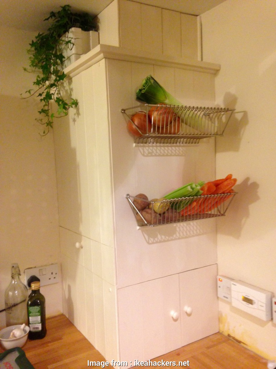 ikea wire basket storage table Fintorp dish drainer becomes wall fruit basket, IKEA Hackers Ikea Wire Basket Storage Table Top Fintorp Dish Drainer Becomes Wall Fruit Basket, IKEA Hackers Photos