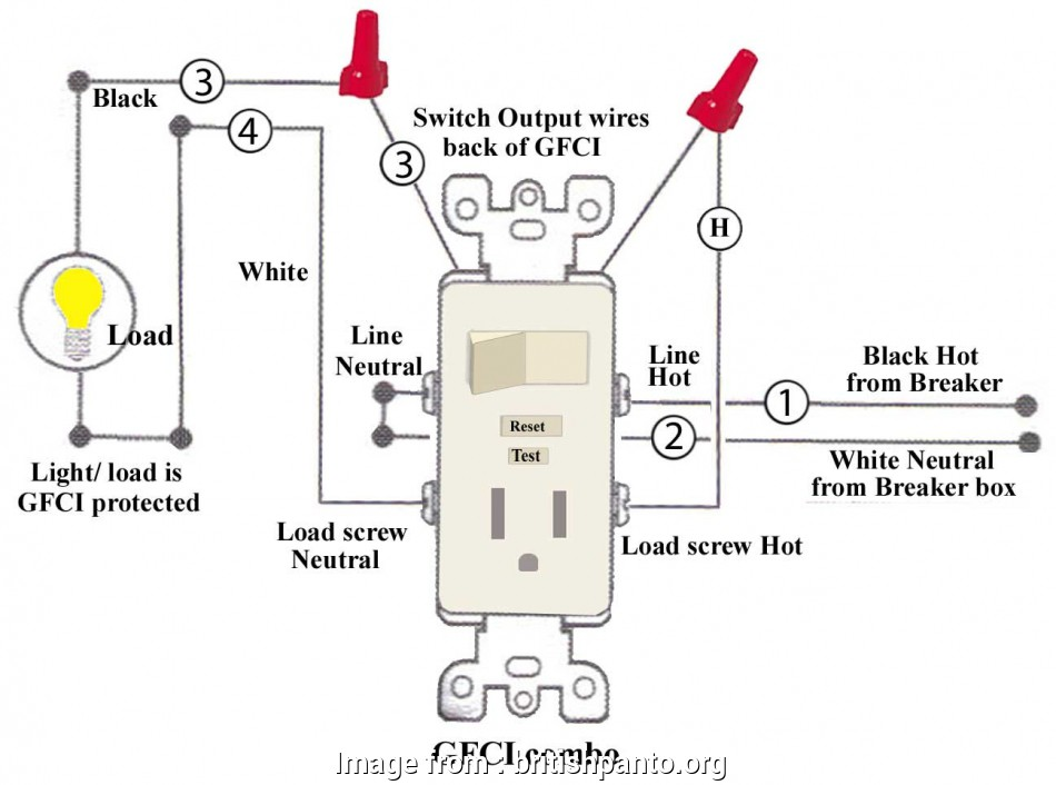 install a switch outlet combo How To Install, Troubleshoot GFCI Best Leviton Switch Outlet Combination Wiring 9 Fantastic Install A Switch Outlet Combo Images