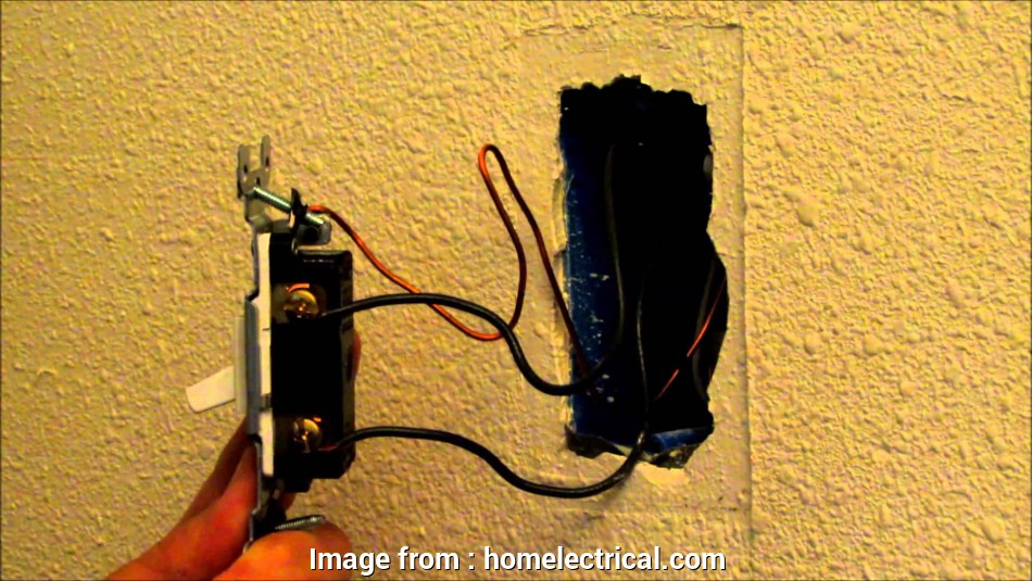 installing a dimmer switch with 2 black wires Installing a, Dimmer Switch, HomElectrical.com 13 Perfect Installing A Dimmer Switch With 2 Black Wires Ideas