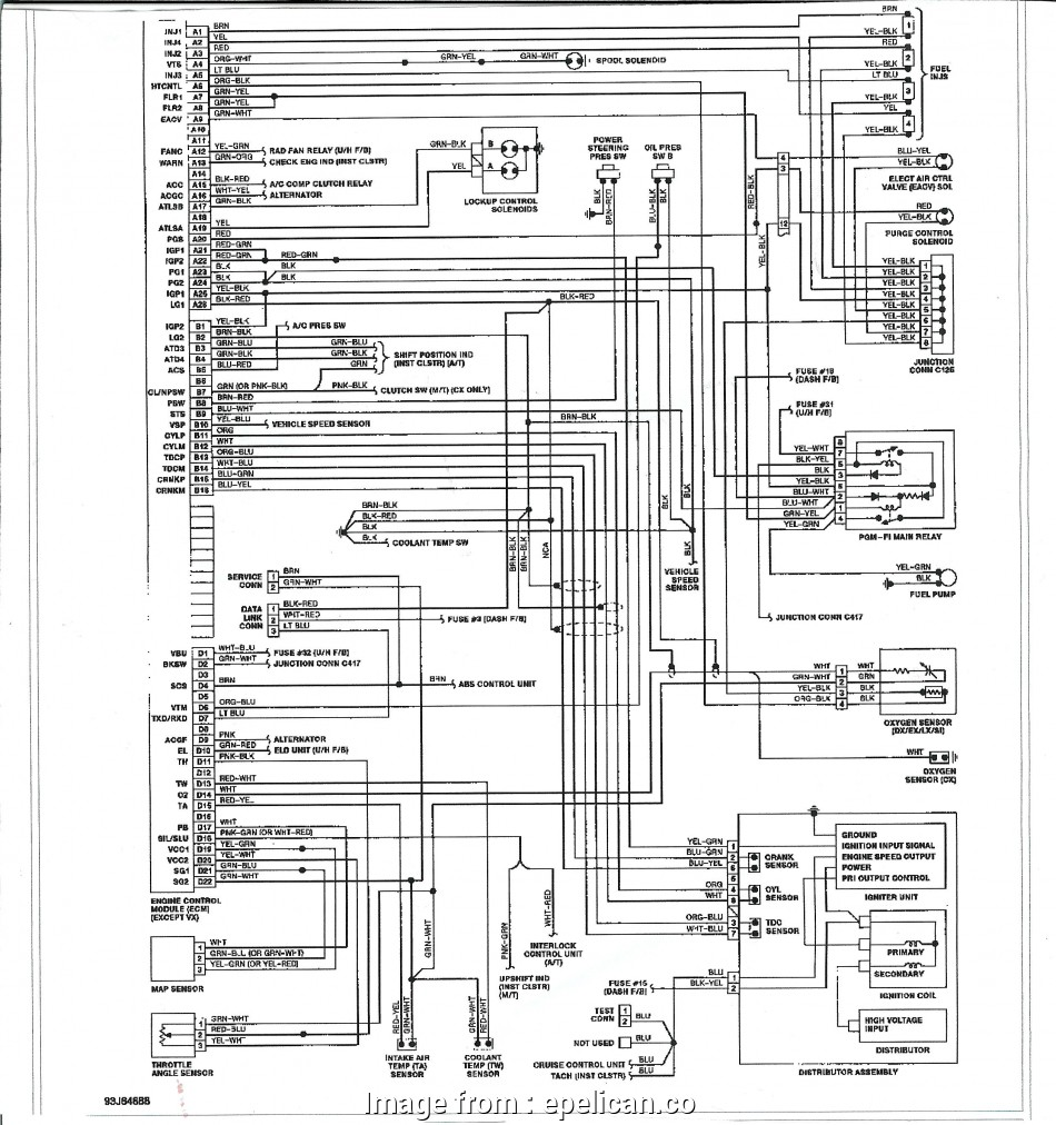 Integra Starter Wiring Diagram Brilliant 1987 Acura Integra Fuse Diagram Example Electrical