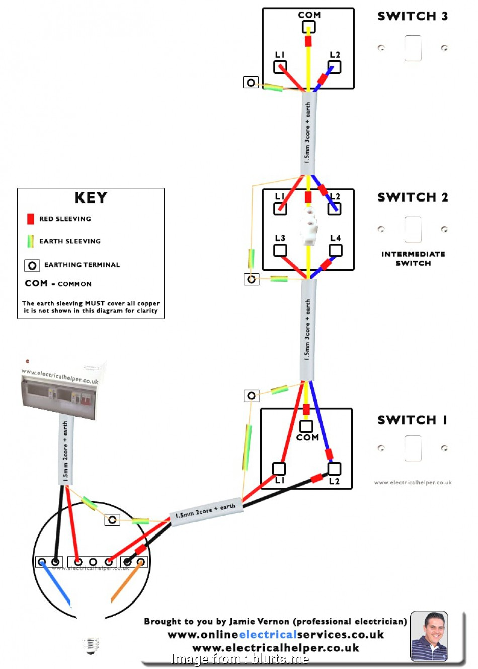 Way Switching Uk Light Wiring