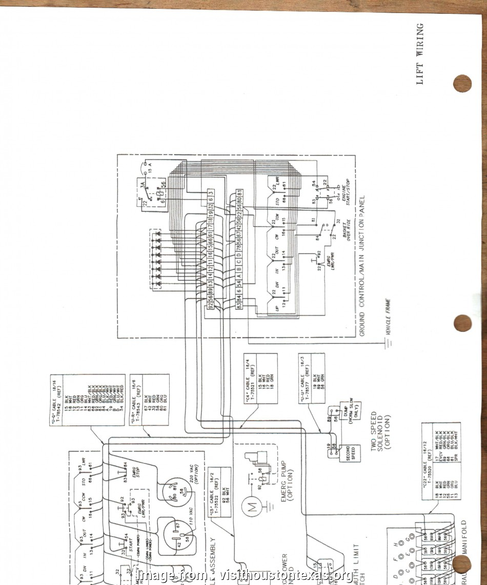 Diagram I Need A Wiring Schematic For A 28 Ft Telsta Bucket Truck