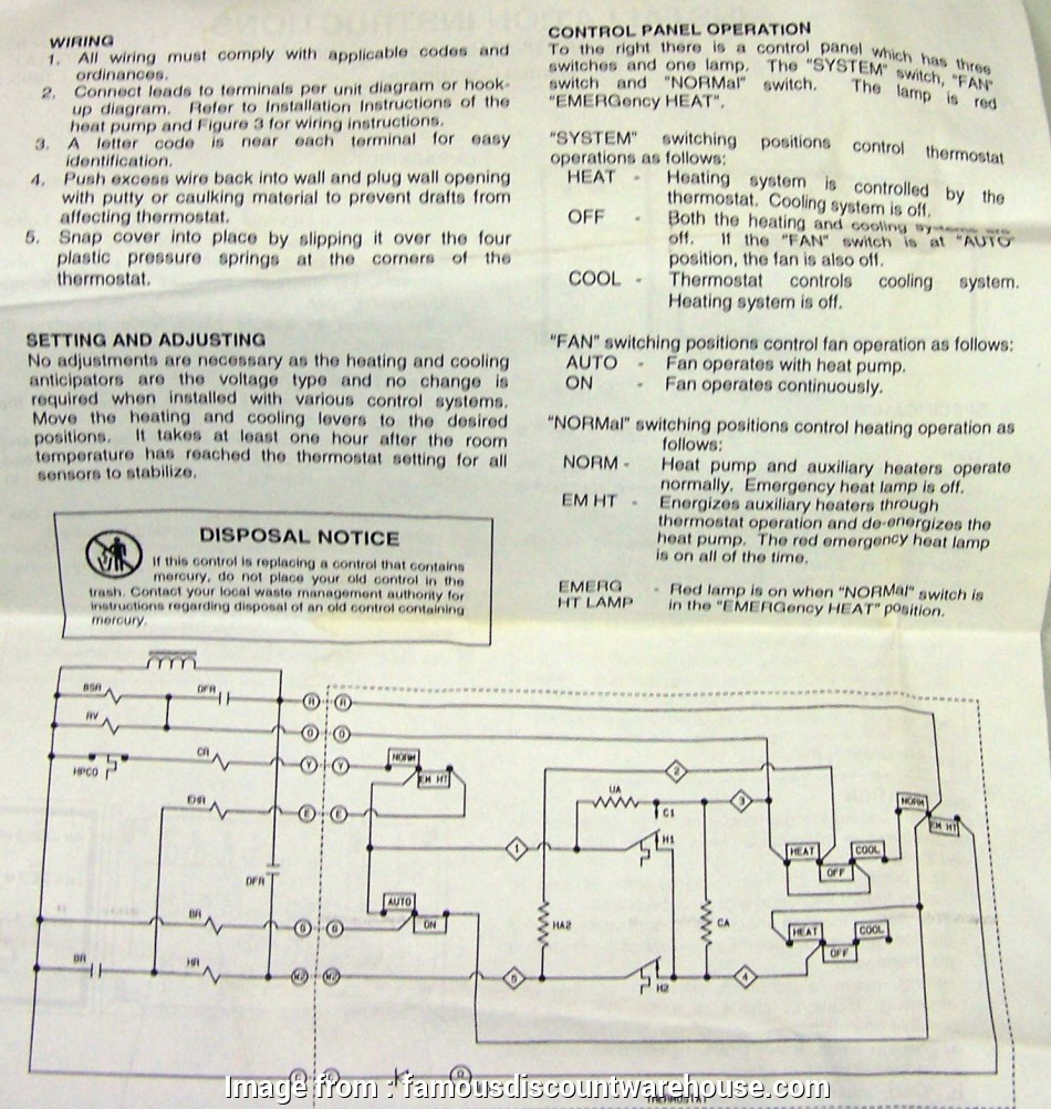 janitrol hpt18 60 thermostat wiring diagram hpt18-60 goodman heat pump  thermostat with emergency heat