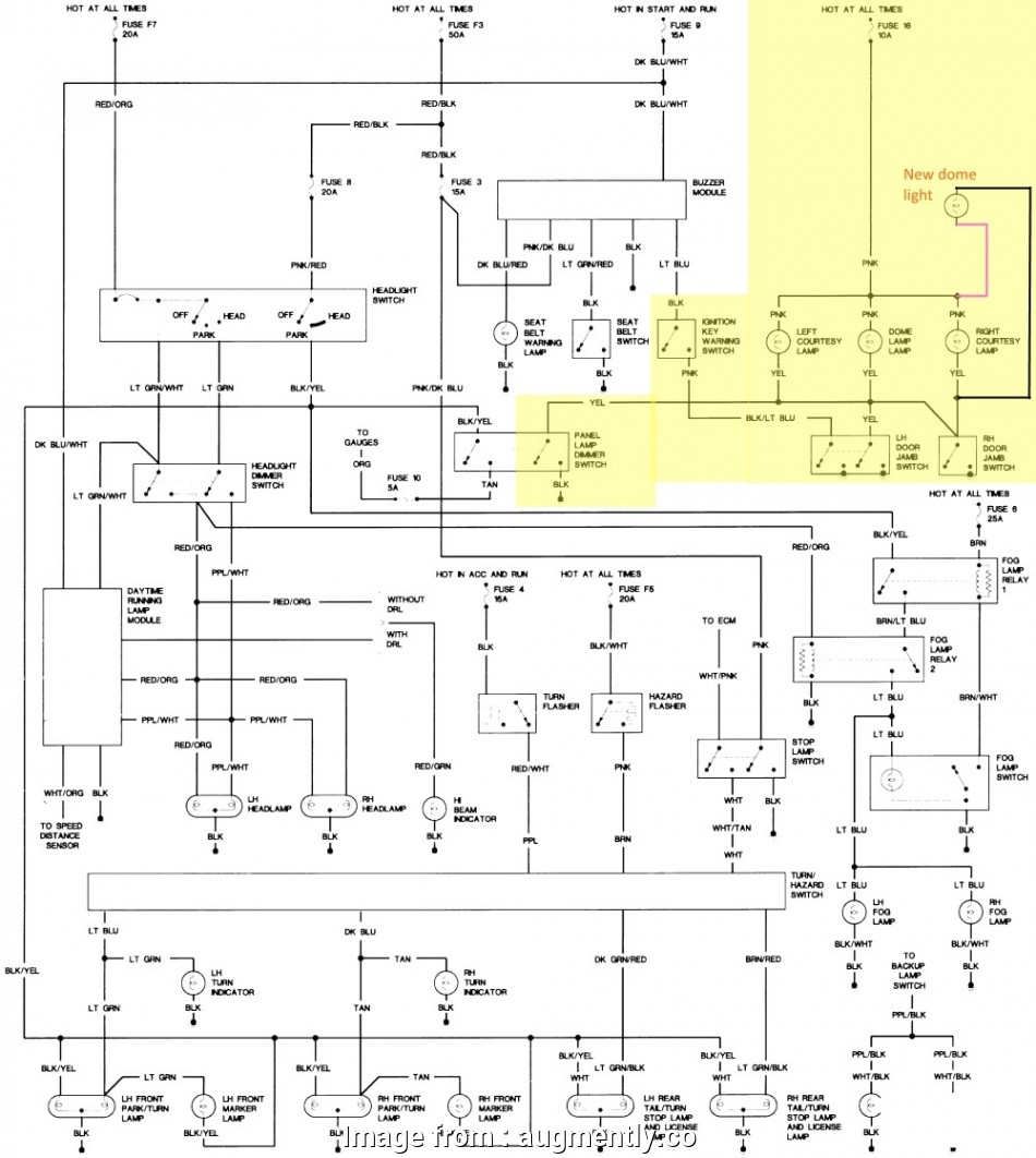 Jeep  Starter Wiring Diagram Most Jeep Wrangler Questions Dome Light On Door Jamb Working