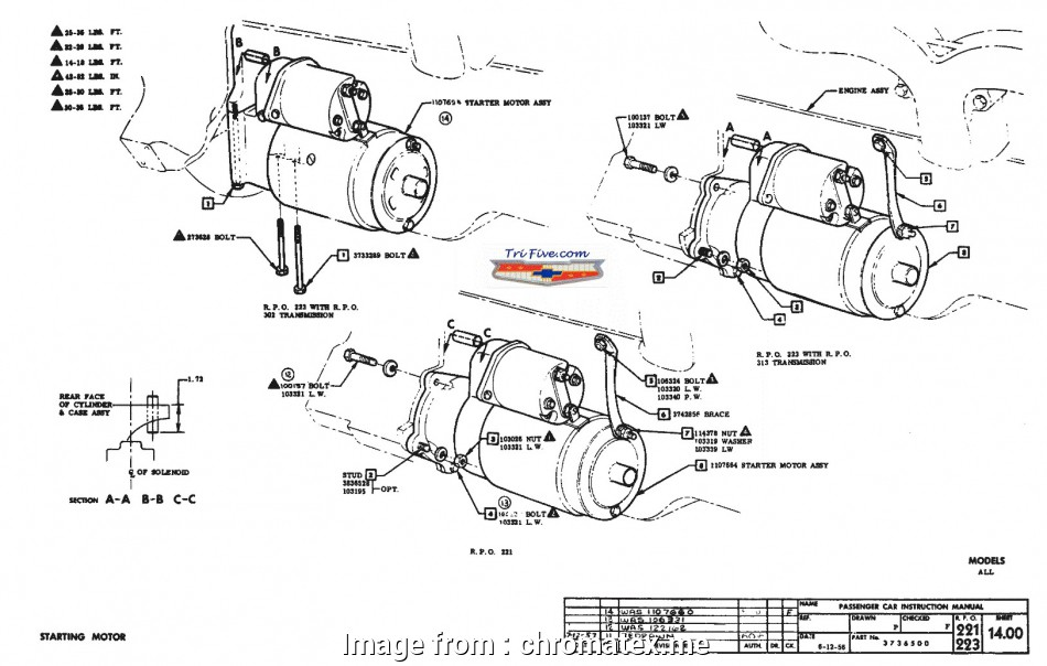 Jegs Mini Starter Wiring Diagram New Mercruiser Starter