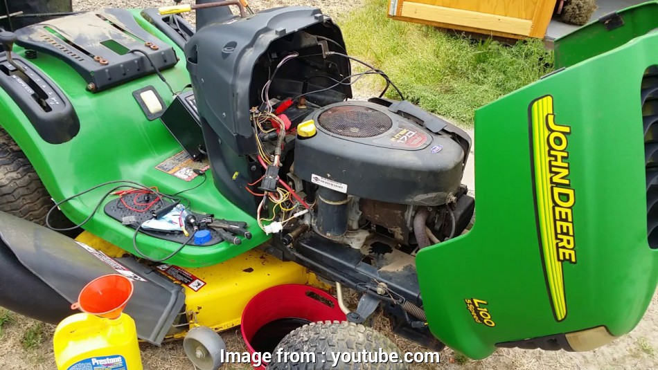 john deere d100 electrical wiring diagram John Deere L100 Lawn Tractor diagnosis complete, electrical issues identified, time to button up! 8 Most John Deere D100 Electrical Wiring Diagram Pictures