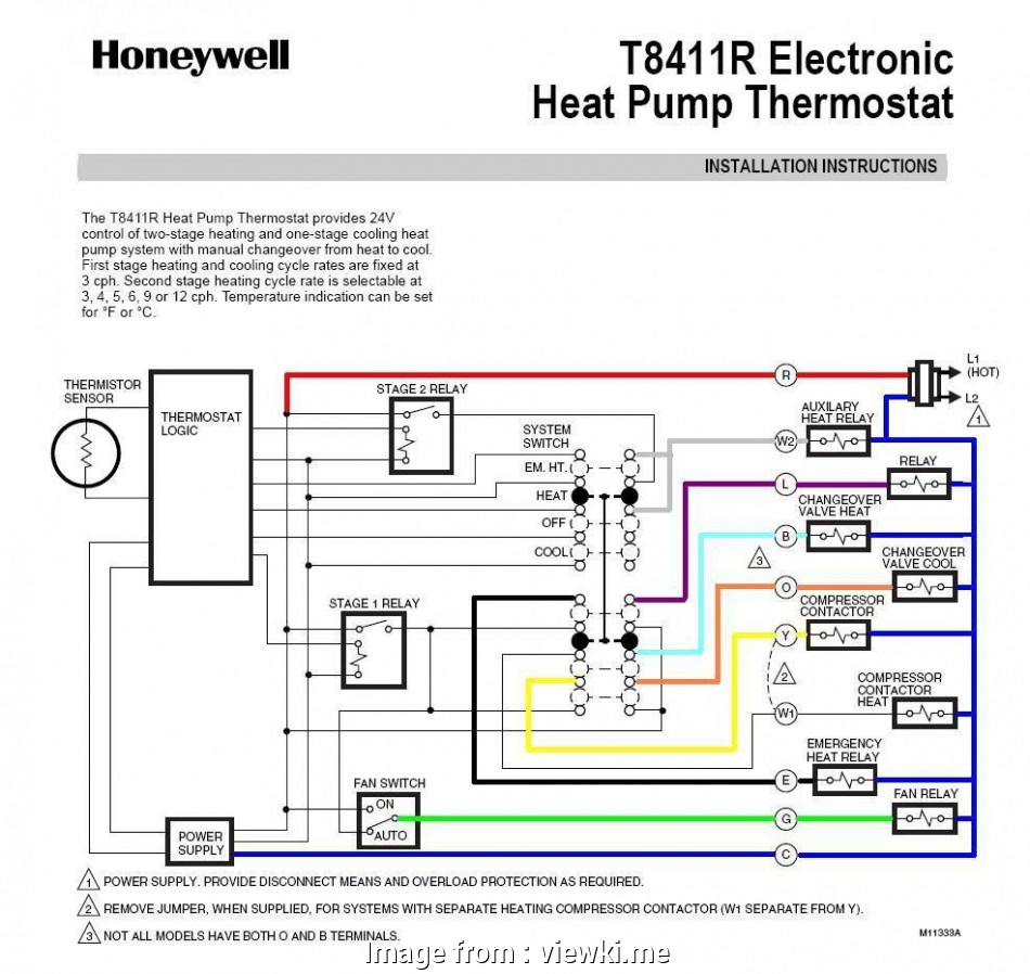 Johnson Controls Thermostat Wiring Diagram Most