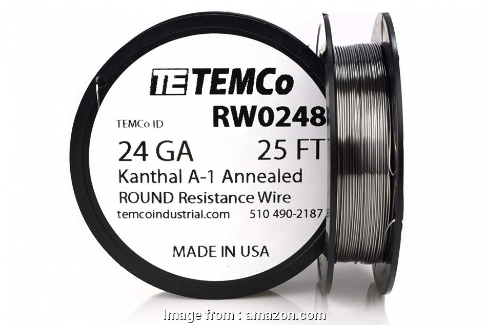 kanthal a1 wire 24 gauge TEMCo Kanthal A1 wire 24 Gauge 50 Ft Resistance, A-1 ga, Amazon.com 12 Cleaver Kanthal A1 Wire 24 Gauge Images