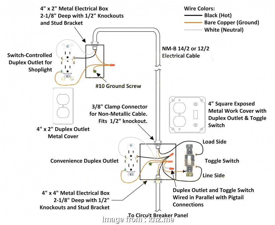 Leviton Outlet Wiring Diagram from tonetastic.info